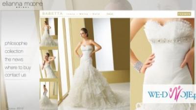 sprzedam piękną suknię eliana moore BARBETTA