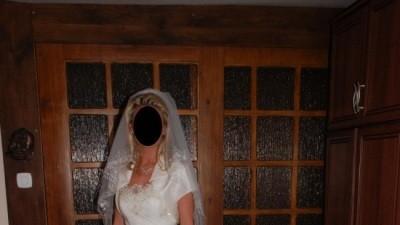SPRZEDAM PIĘKNĄ  SUKNIĘ EMMI MARIAGE APHRODITE Roz.36-38