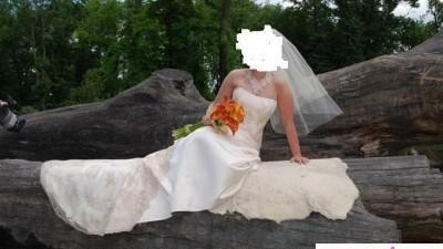 Sprzedam piękną suknię firmy Villais