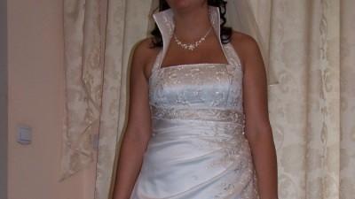 sprzedam piękną suknię Sincerity z kolekcji 2007 rozmiar 44