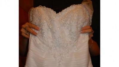 sprzedam piękną suknie slubną