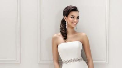 """Sprzedam Piękną Suknie Ślubną ,, Agnes Bridal"""" ( długi welon gratis)"""
