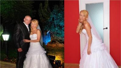 Sprzedam piękną suknię ślubną Annais Bridal model Bibione! ATRAKCYJNA CENA!
