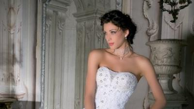 Sprzedam piękną suknię ślubną Demetrios