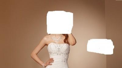 Sprzedam piękną suknię ślubną Herms Gabdalla