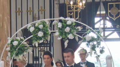 Sprzedam piękną suknię ślubną Jasmine Empire, roz. 38/40,  1700 zł + welon gratis