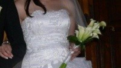 Sprzedam piękną suknie ślubną marki Maggio Ramatti