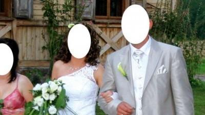 Sprzedam piękną suknię ślubną od zaraz ,tanio!!!