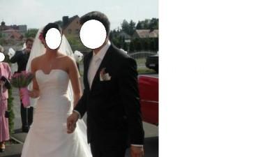 Sprzedam piękna suknie ślubna Pronovias Manila+ 2 welony(krótki i długi)