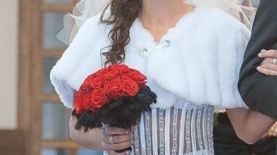 Sprzedam piękną suknię ślubną, rozm. 36-38