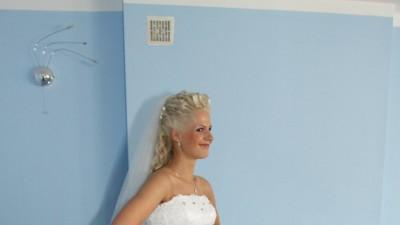 Sprzedam piękną suknię ślubną rozm. 38-40