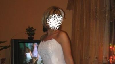 Sprzedam piekna suknie slubna rozm 38 duza mozliwosc regulacji + dodatki