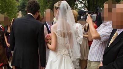 Sprzedam piękną suknię ślubną Scarlet Manuel Mota