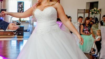 Sprzedam Piękną Suknię Ślubną SINCERITY 3621 rozmiar 44