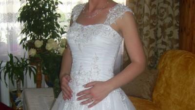 Sprzedam piękna suknie slubna z firmy Demi Isabel