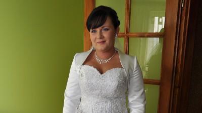 Sprzedam Piękną Suknię Ślubną z salonu Ewy Śliwy