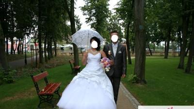 Sprzedam piękną suknie ślubną za 1100 zł