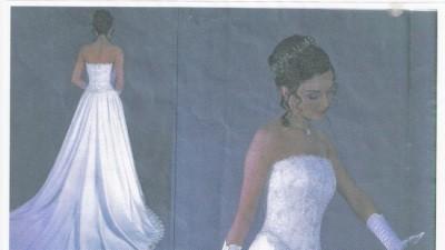 Sprzedam piękną suknię ślubnąrozmiar 36 - 38