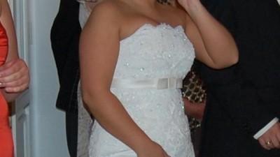 Sprzedam piękną suknię WHITE ONE 176 za mniej niż połowę ceny z dodatkami