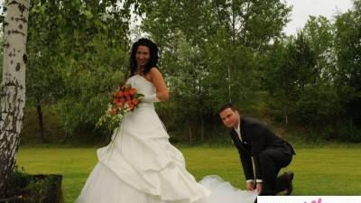 Sprzedam pilnie piękną suknie ślubną firmy agnes - okazja !!!