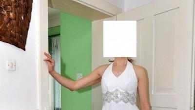 Sprzedam plisowaną niebanalną suknie ślubną
