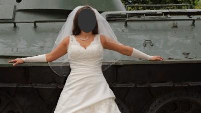 Sprzedam przepiękną suknię Sincerity 3333