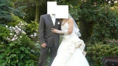 Sprzedam przepiękną suknie ślubną!dodatki gratis!