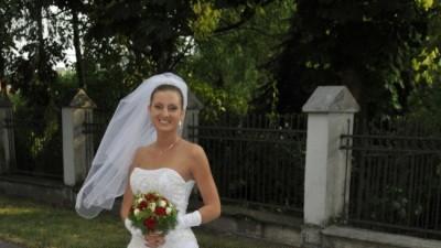 Sprzedam przepiękną suknię ślubną, francuską Miss  Kelly