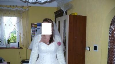 Sprzedam przepiękną suknie ślubną princessa
