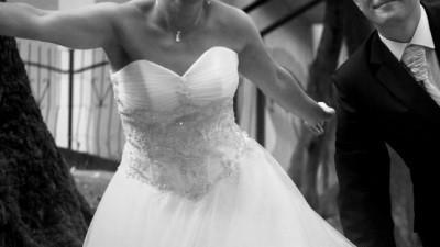 Sprzedam przepiękną suknie ślubna rozm.38