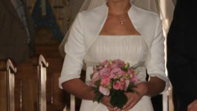 Sprzedam romantyczną, delikatną suknie ślubną, styl Empire