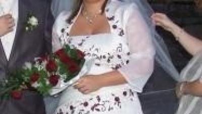 Sprzedam śliczą suknie ślubną Agora w rozmiarze 44