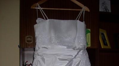 sprzedam śliczmą suknie slubną