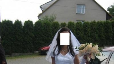 Sprzedam: Śliczna biała suknia ślubna 36/38