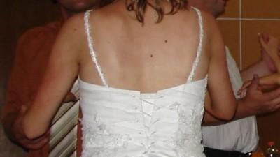 Sprzedam śliczną, białą suknię ślubną rozm. 38/40
