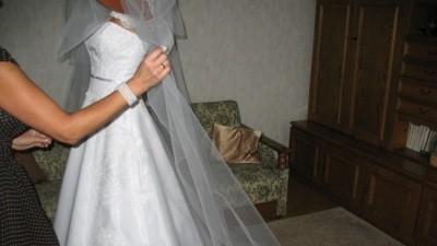 sprzedam śliczną skromną ale jednocześnie wytworną suknie ślubną