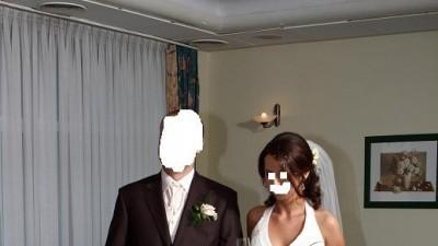 Sprzedam śliczną subtelną suknię ślubną