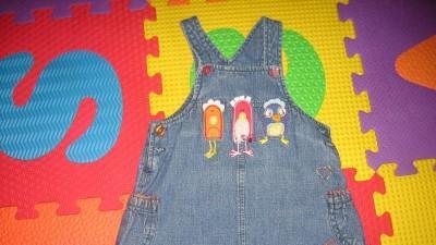 Sprzedam śliczną sukieneczkę jeansową na szelkach NEXT