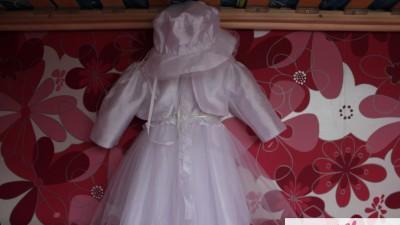 Sprzedam  Śliczną Sukienkę Do Chrztu. POLECAM