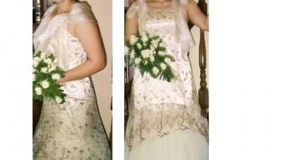 Sprzedam śliczną suknię 42