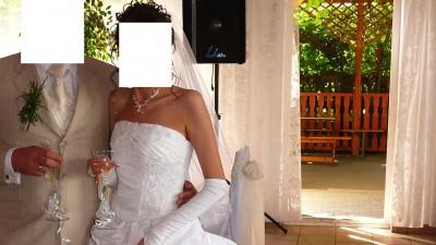 Sprzedam śliczną suknie ślubną 36/38