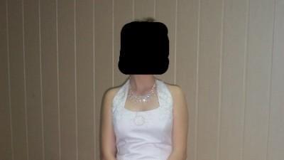 sprzedam sliczna suknie slubna...