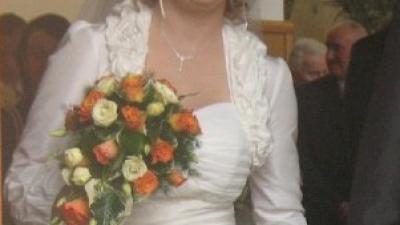 Sprzedam Sliczna suknię ślubną ecru