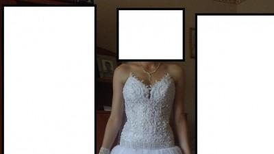 Sprzedam śliczną suknię ślubną - księżniczkę