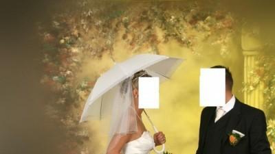 sprzedam śliczną suknię ślubną kupioną we Francji w 2007r.
