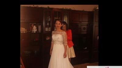 Sprzedam śliczną suknię ślubną (literka A)