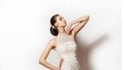 Sprzedam śliczną suknię ślubną-Sposabella 602