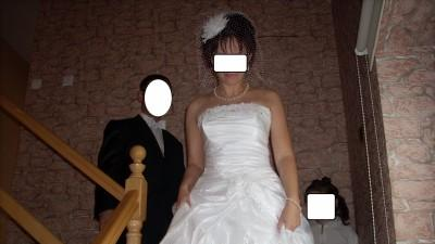 sprzedam śliczną suknię ślubną wolbrom