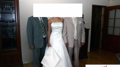 Sprzedam Śliczną Suknię Ślubną z kolekci szweckiej projektantki Alicji Eklow