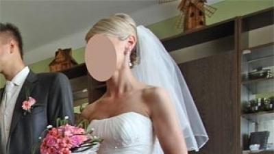 Sprzedam śliczną suknię ślubną z kolekcji San Patrick - Peralta
